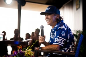 Surfing Legend Gerry Lopez compares meditation to riding a wave